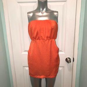 Orange 🍊 tube dress with pockets 💥